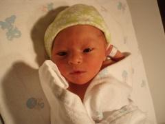 Alex at birth, 2011