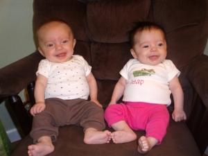 Twin smiles