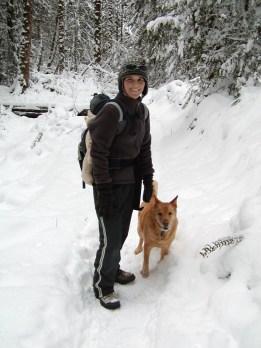 Alex, Corona, and me January 2012
